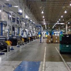Automotive Instrument Panel Storage & Retrieval Line - IntelliTrak 150 Series Overhead Conveyor