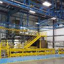 Boom Truck Component Finishing Line-IntelliTrak 1500 Series Overhead Conveyor