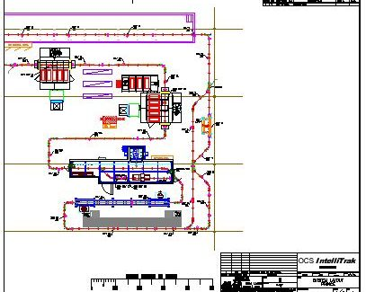 Hydraulic Cylinder Finishing Line Layout - IntelliTrak 500 Series Overhead Conveyor