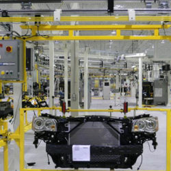 IntelliTrak 1500 Series Overhead Conveyor Automotive Front End Module Assembly Line