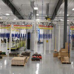 Hydraulic Cylinder Finishing Line - IntelliTrak 500 Series Overhead Conveyor
