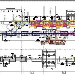 Industrial Fan Component Finishing Line- IntelliTrak 1500 Series Overhead Conveyor