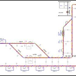 Automotive Front End Module Assembly Line Layout 2006 - IntelliTrak 500 Series Overhead Conveyor
