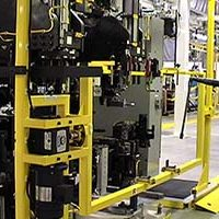 Automotive Front End Module Assembly Line - IntelliTrak 500 Series Overhead Conveyor