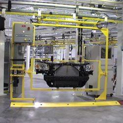 Automotive Front End Module Assembly Line - IntelliTrak 500 Series Overhead Conveyor
