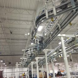 Window Treatment Assembly Line - IntelliTrak 500 Series Overhead Conveyor