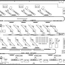 Window Treatment Assembly Line - IntelliTrak 500 Series Overhead Conveyor