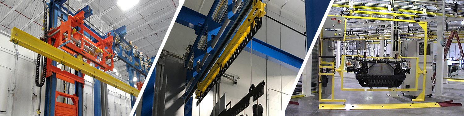 IntelliTrak Series Overhead Conveyor