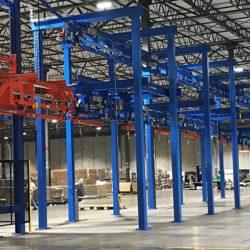 LCD Display Assembly Line - IntelliTrak 1500 Series Overhead Conveyor