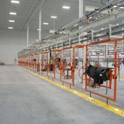 Automotive Instrument Panel Assembly Line - IntelliTrak 500 Series Overhead Conveyor