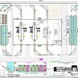 Boom Truck Component Finishing Line Layout - IntelliTrak 1500 Series Overhead Conveyor