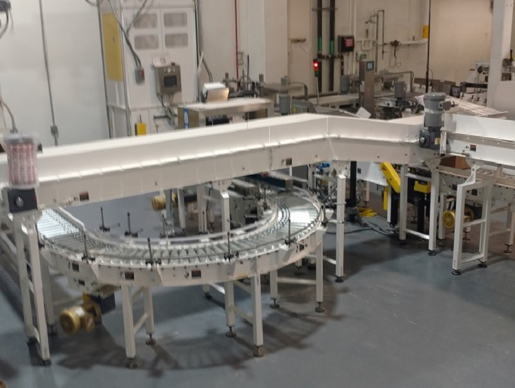 Dry Goods Packaging Line - IntelliTrak Powered Conveyor Series