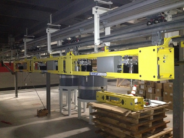 Casting Storage and Retrieval Line - IntelliTrak 500 Series Overhead Conveyor