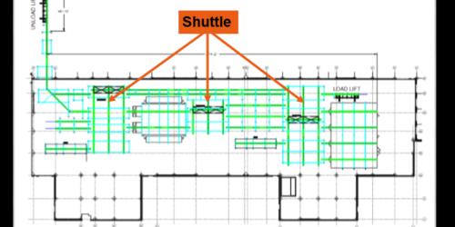 IntelliTrak 1500 Series Overhead Conveyor Shuttle