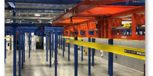 IntelliTrak 1500 Series Overhead Conveyor Shuttle