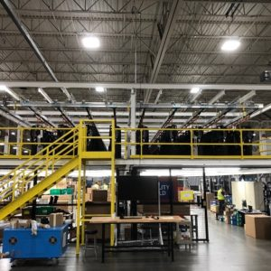 Automotive Instrument Panel Storage & Retrieval - IntelliTrak 150 Series Overhead Conveyor