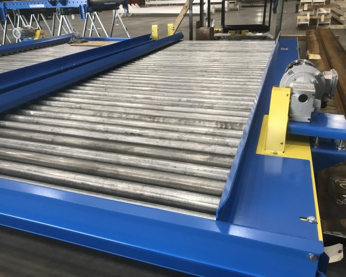 Chain Driven Live Roller Conveyor (CDLR)