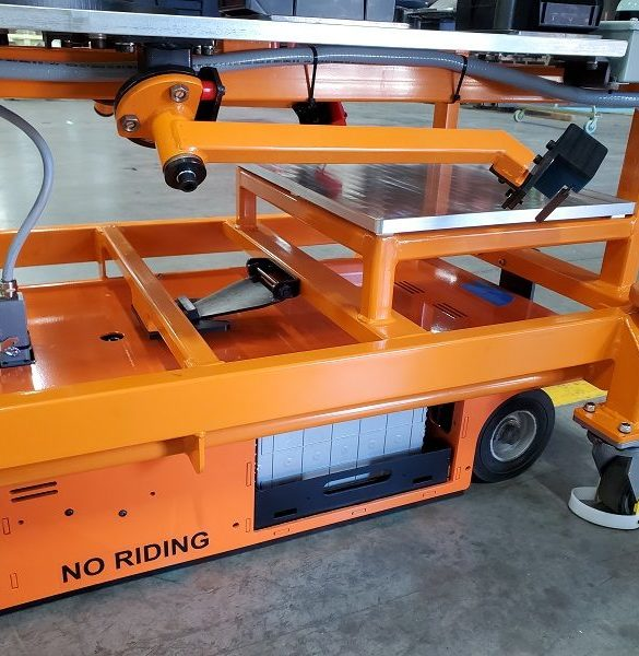 Automated Guided Cart AGC custom design and fabrication