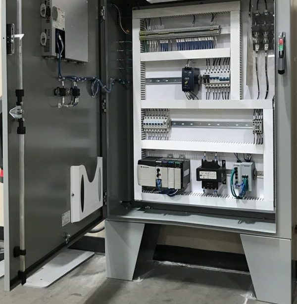 AGC Automated Guided Cart Control Panel