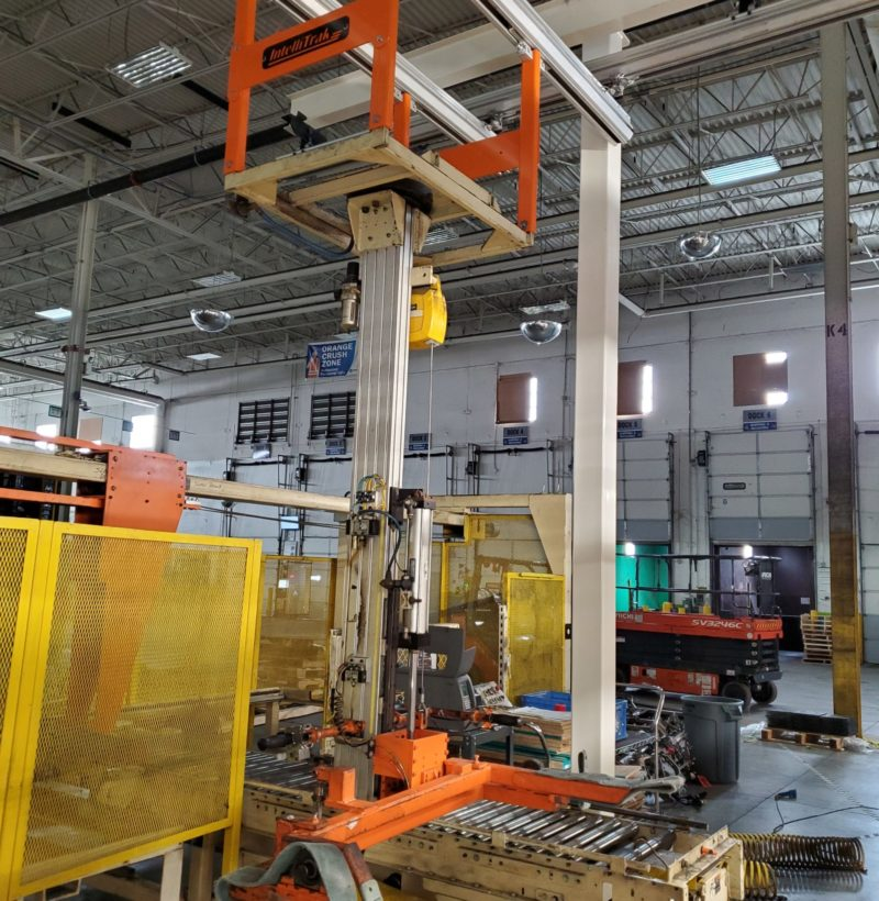 Assembly Crane and Rail Solution