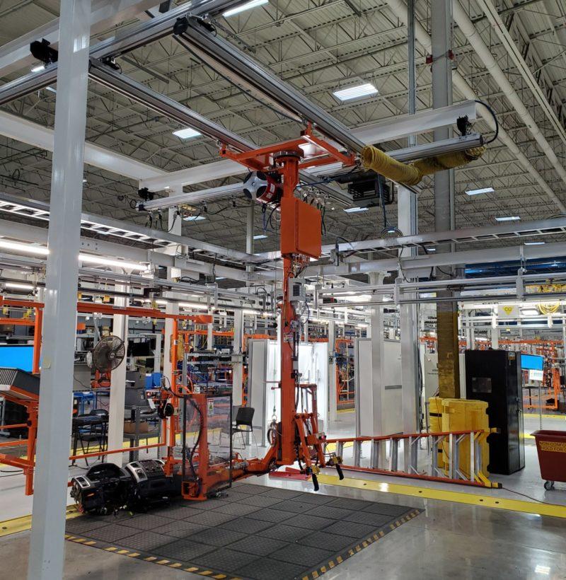 Automotive Assembly Rail System